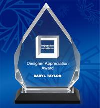 Diamond Impress Acrylic Award