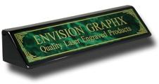 Green Designer Brass Black Piano Finish Wedge