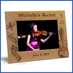 violin recital frame